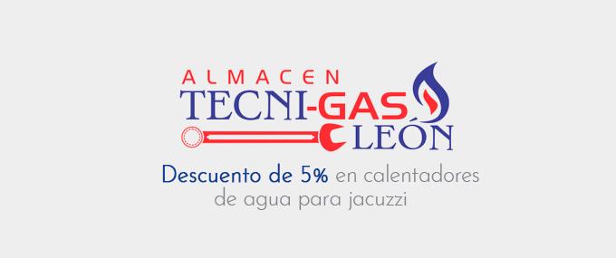 Tecnigas león promocion de 5% en jacuzzi