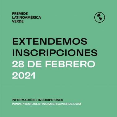 premios latinoamerica verde