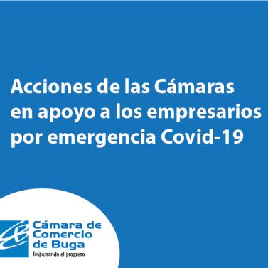 Cámaras de Comercio lideran estrategias para mitigar impacto económico en las empresas del país por el Covid-19