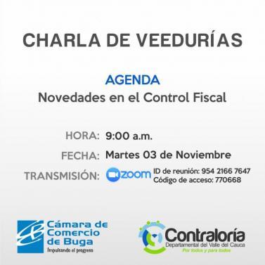 CHARLA VEEDURÍAS
