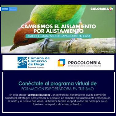 Programa de Formación Virtual Exportadora en Turismo con ProColombia