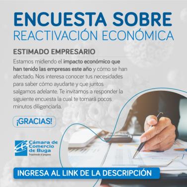 Encuesta sobre reactivacion económica